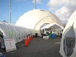 Relief Domes