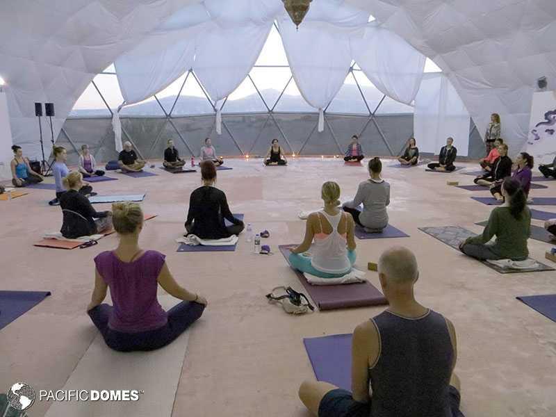 Yoga Dome, Spain