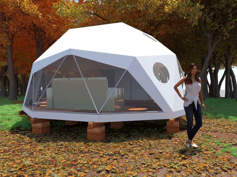 20ft 2V Dome Home