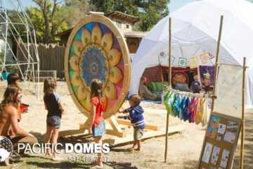 Festiva;l Dome Tent - Circle of Children
