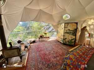 dome home, 20 ft. Ashland OR dome home, tiny house, Ashland tiny house