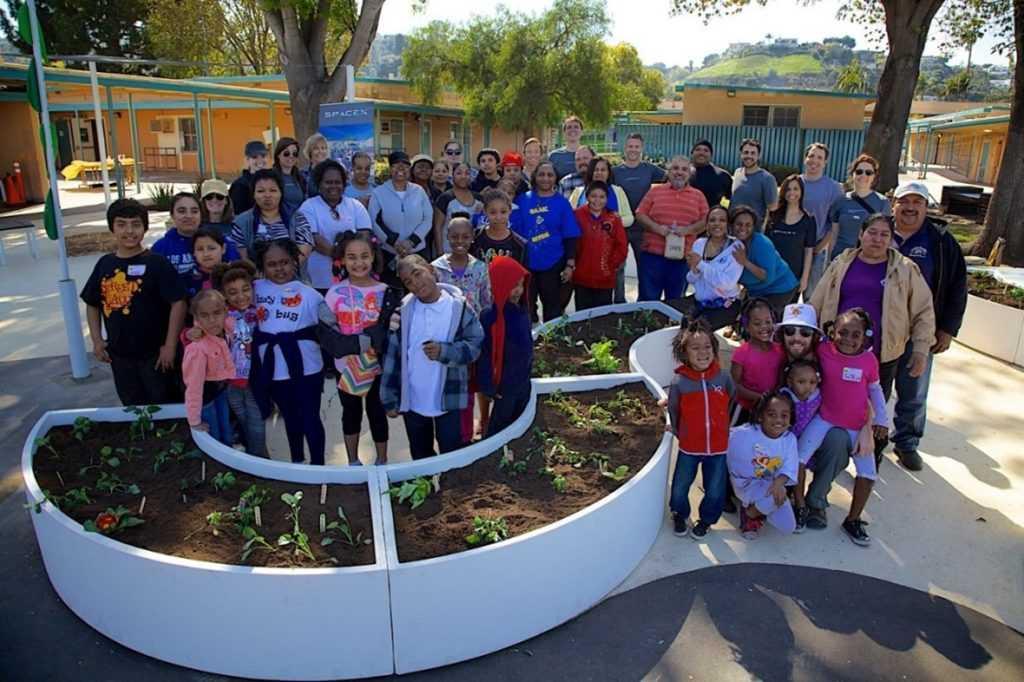 Big Green Learning Garden