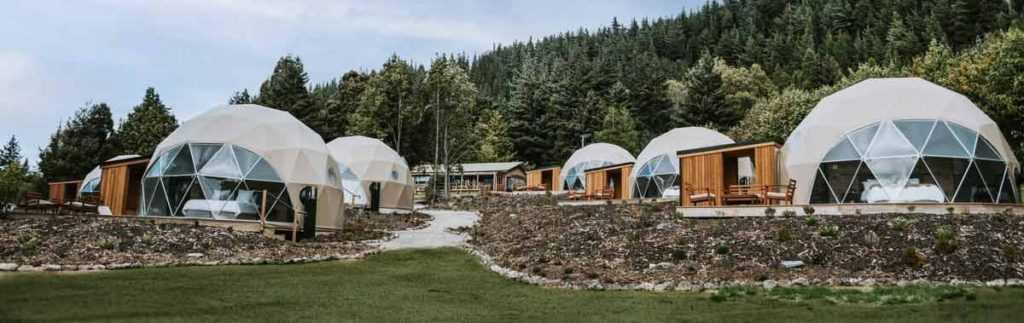 glamping domes