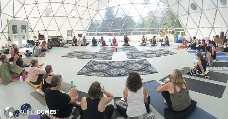 50 ft. yoga dome