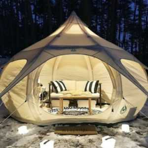 Glamping Bell-Tent