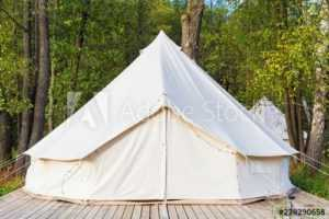 Walled-Canvas Bell Tent