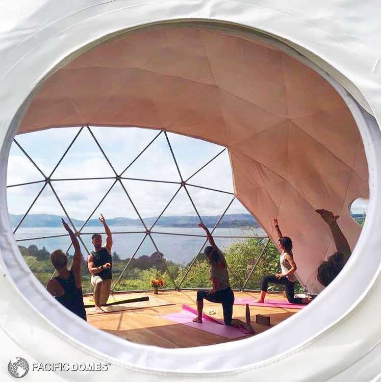 30 ft yoga dome-scotlandd
