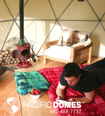 Fforest Dome Camp