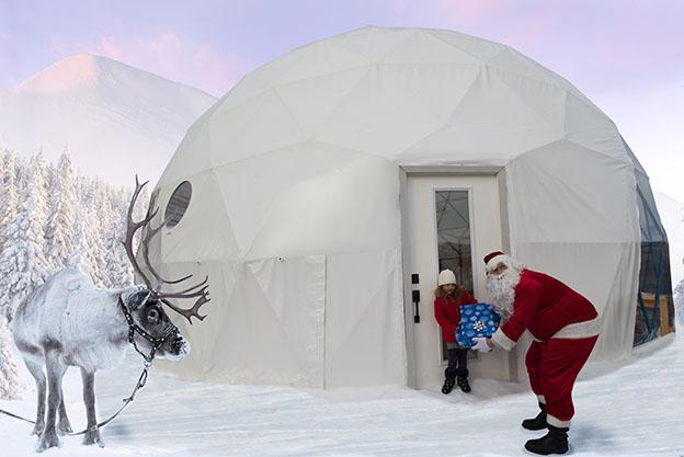Pacific Domes - Santa's Dome