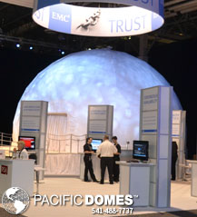 EMC² Conference Projection Dome