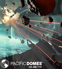 Virtual Reality Gaming Domes