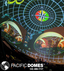 Pacific Domes - Projection Dome Theaters