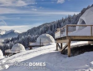 Pacific Domes - White Pod Domes