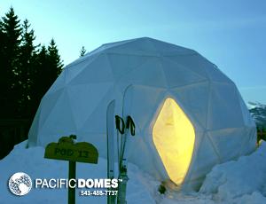 Pacific Domes - White Pod Dome