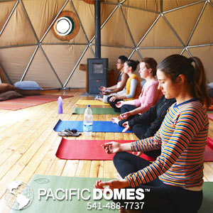 Pacific Domes - Ojai Yoga Crib Dome