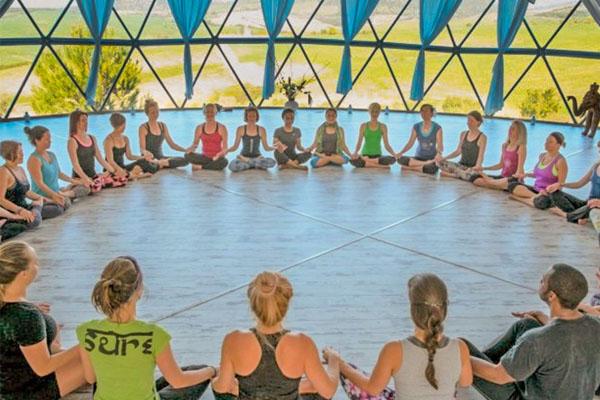 Pacific Domes - Om Yoga Dome