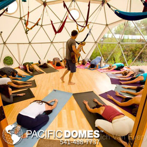 24ft Rassman Yoga Dome - Pacific Domes