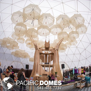 Pacific Domes - Prana Fest Yoga Dome