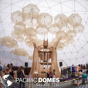 Pacific Domes - Prana Fest Yoga Dome