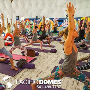 Pacific Domes - Yoga Dome
