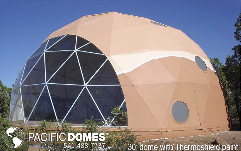 Solar Vent Fan >> 30ft Dwell Domes Gallery