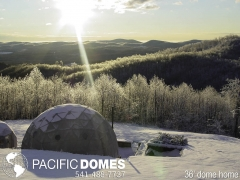 36 foot geo dome-Pacific domes
