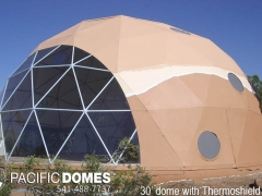30' Dome Home-Thermoshield Paint-Pacific Domes