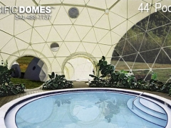 pool dome-pacific domes