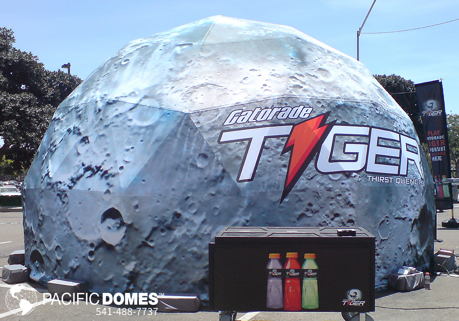Gatorade Tiger Printed Dome