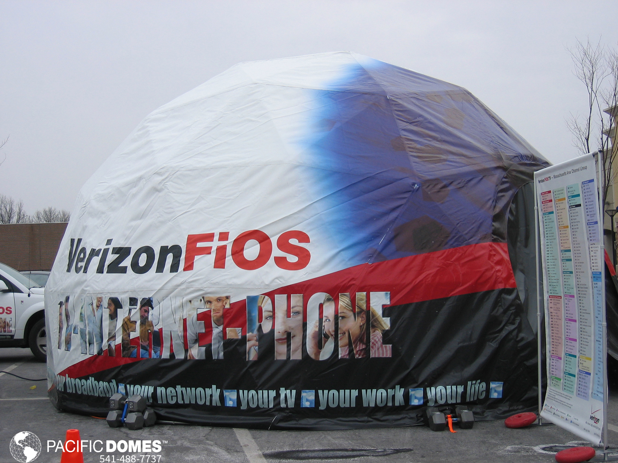 Verizon FIOS Dome