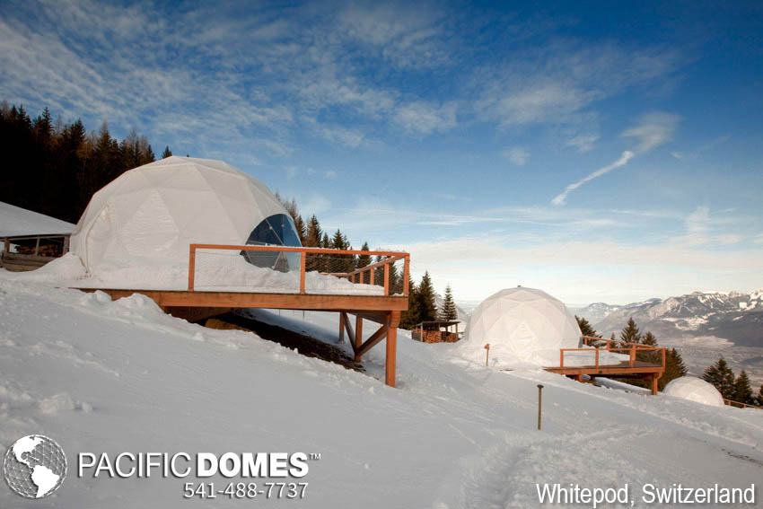 Whitepod Eco Resort Pacific Domes