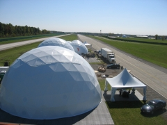 60' Trucks and Engines Dome Tents