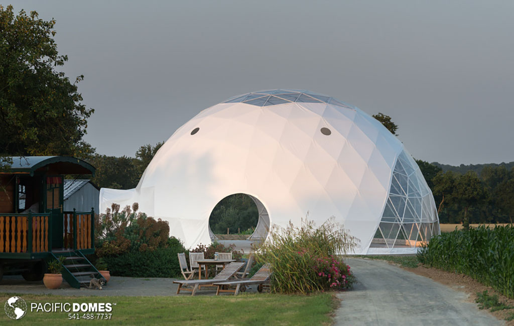 Eco Living Dome at Domaine Arvor