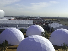 Super Bowl Domes by Pacific Domes