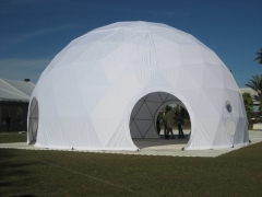 IFAI Expo with this Geodesic Dome