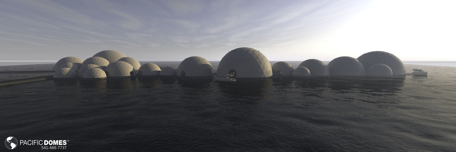 Coconut & Wave Floating Dome Complex10