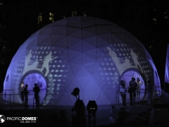 Event Light Projection-Pacific Domes