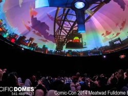 Comic Con Pacific Domes