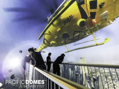 Projection Sphere-Pacific Domes 2