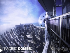 Projection Sphere-Pacific Domes