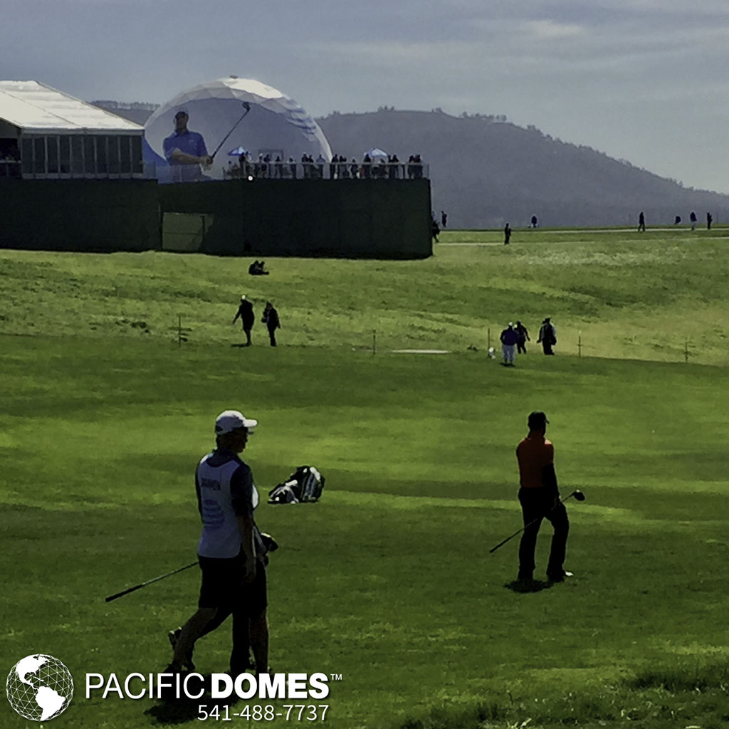 Golf-Pacific Domes