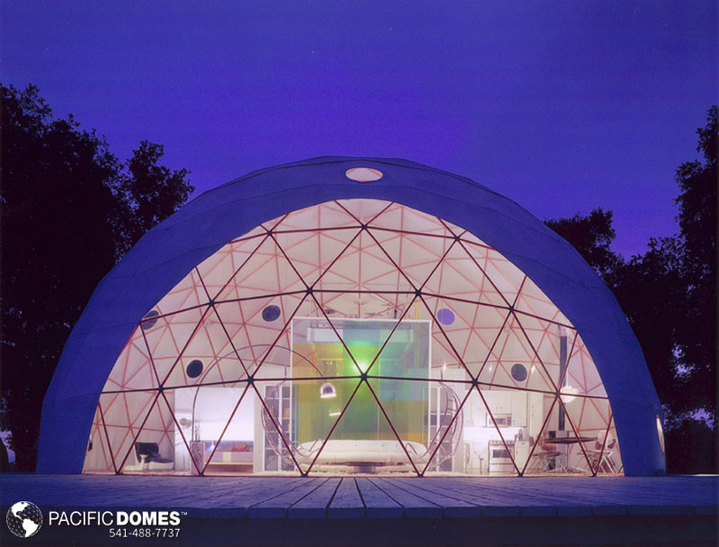 dome home, dwell dome, dome house