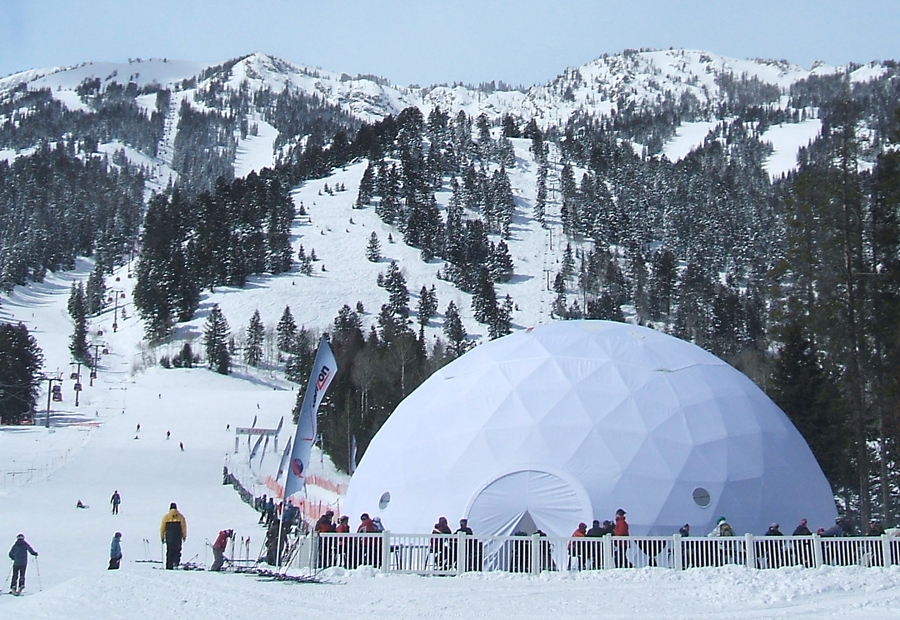 Godesic Sports Marketing Dome tent