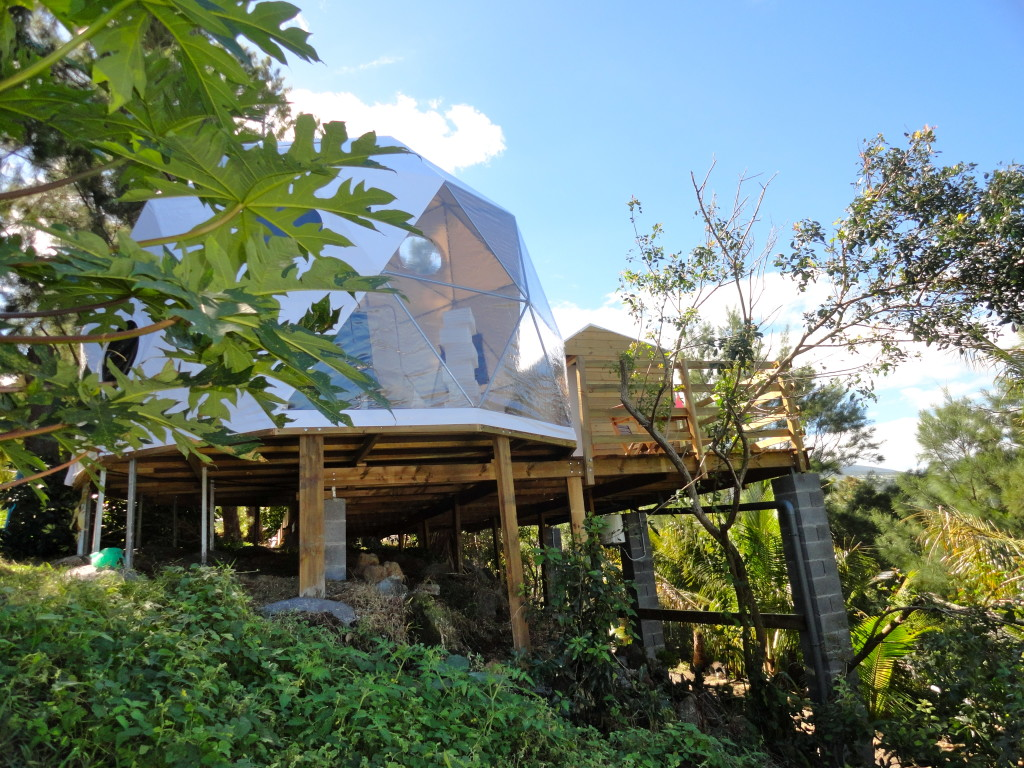 geodesic shelter dome by pacific domes of oregon