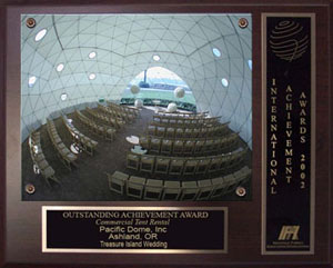 pacific domes award for Event Tents