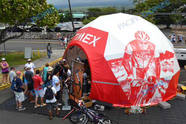 Printed Event Dome for Timex Corporation - Pacific Domes Event Tents