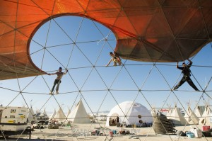 burning man 2012 dome