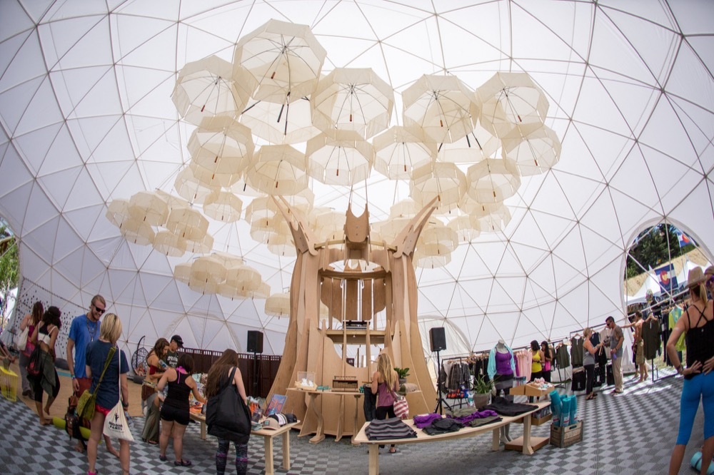Party Tent Rentals by Pacific domes of Oregon, Event Dome for Wanderlust Festival