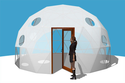 Pacific Domes - 20ft Greenhouse Dome