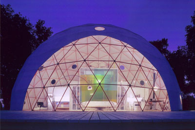 Pacific Domes - 44ft Greenhouse Dome